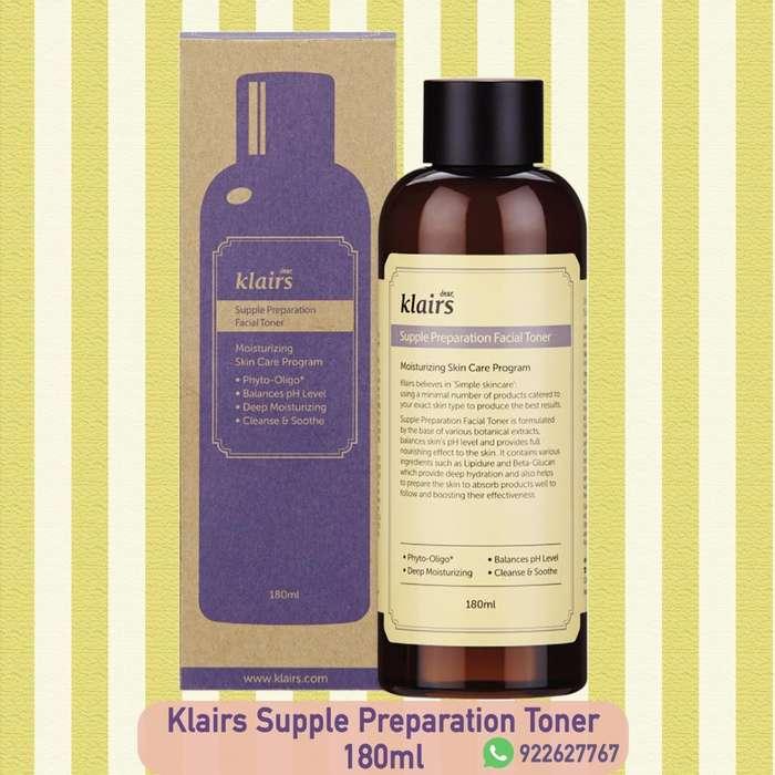 Klairs Supple preparation facial Toner - en stock
