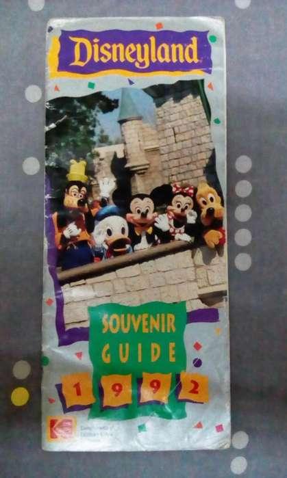 Disneyland Souvenir Guide De 1992