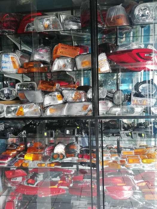 Espejos Y Faros Toyota, Hyundai, Mazda,