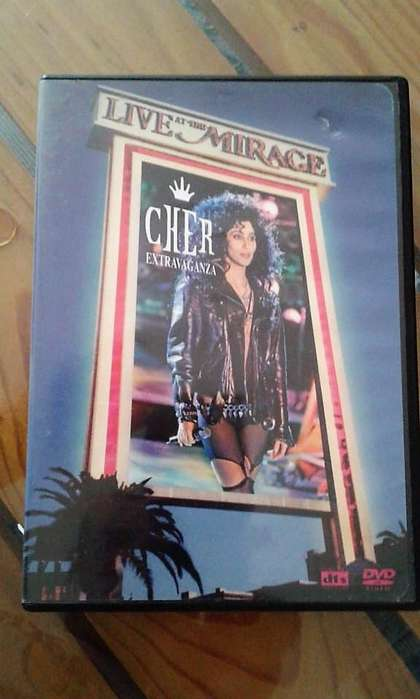 CHER Extravaganza Live at the Mirage DVD
