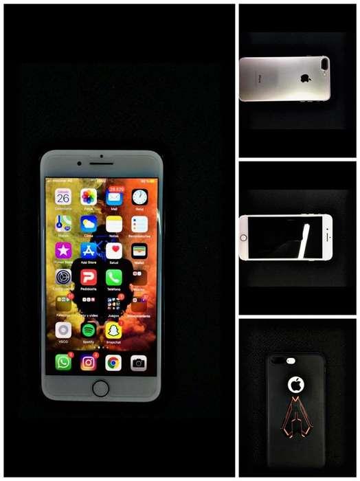 iPhone 7 Plus 128gb gold Vendo Ya