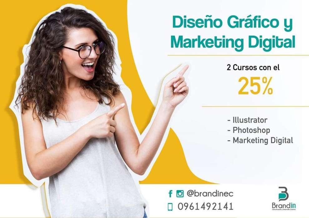 Cursos de Diseño Gráf Y Marketing Dig