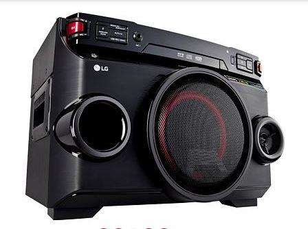 Ganga Minicomponente LG OM4560 220 W RMS Nuevo!!