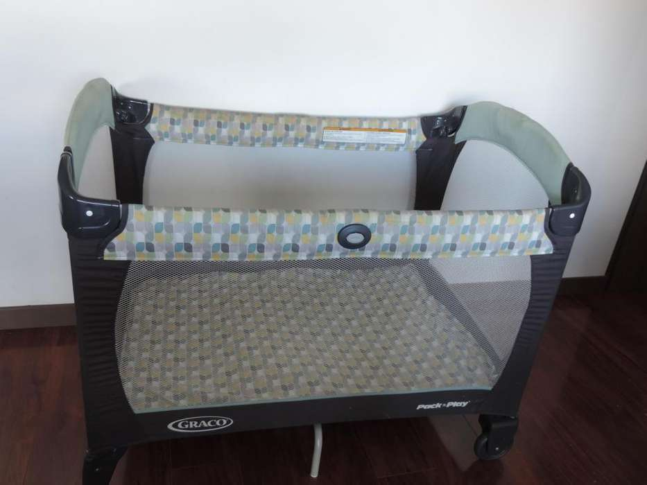 Cuna corral cambiador Graco Pack and Play