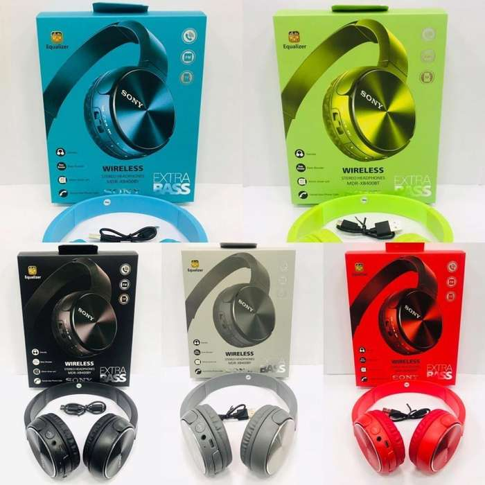 Audífonos <strong>sony</strong> Mdr Xb400by Wireless Extra Bass Envio Grati