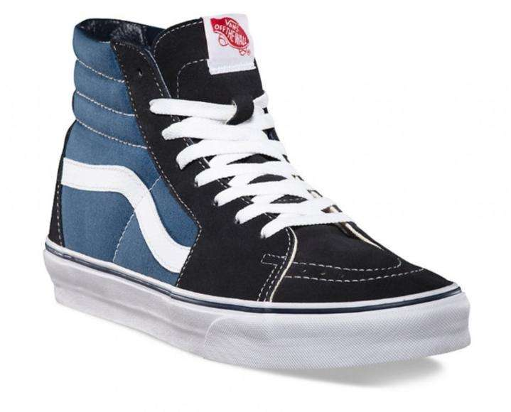 Vendo zapatillas vans azules originales Unisex