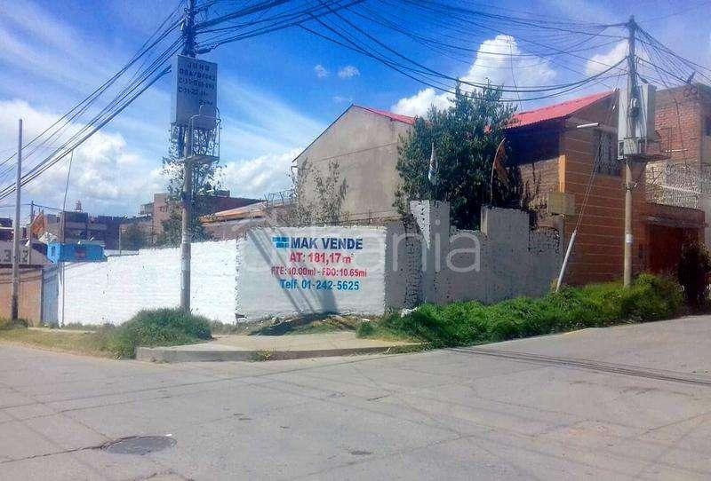 Venta de Terreno 181.17 m2 en Huancayo