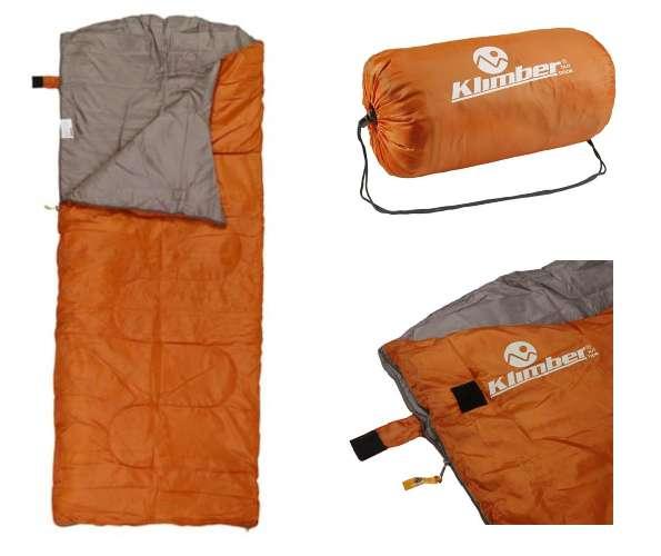 Sleeping Saco De Dormir Naranja Klimber Camping 10a 20 ¡¡¡ Nuevas !!!