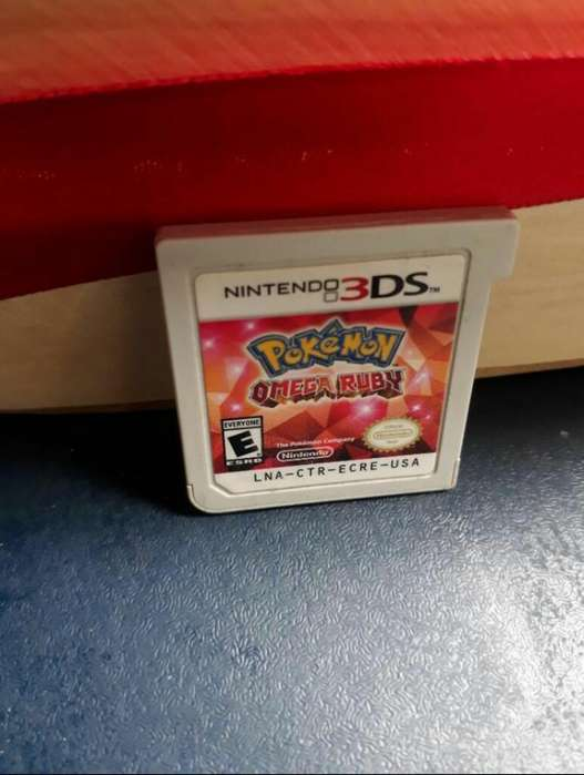 Pokemon Omega Ruby For 3ds