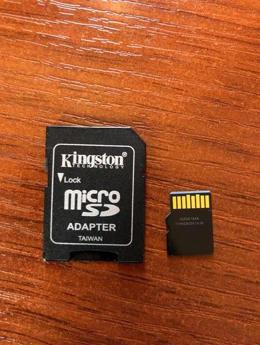 Micro SD de 128gb de almacenamiento nuevo semana de uso nada mas flash usb memorias