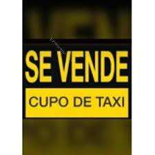 VENTA DE CUPO TAXI