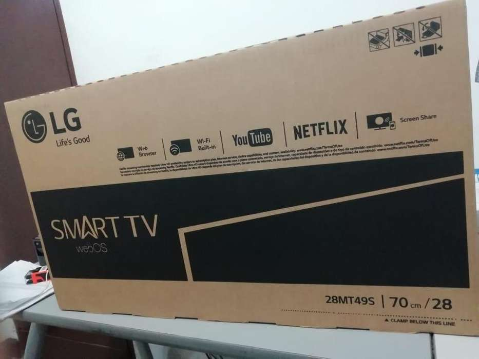 Smart Tv de 28 Pulgadas Nuevo de Caja