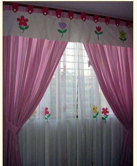cortinas infantil niñas y niños