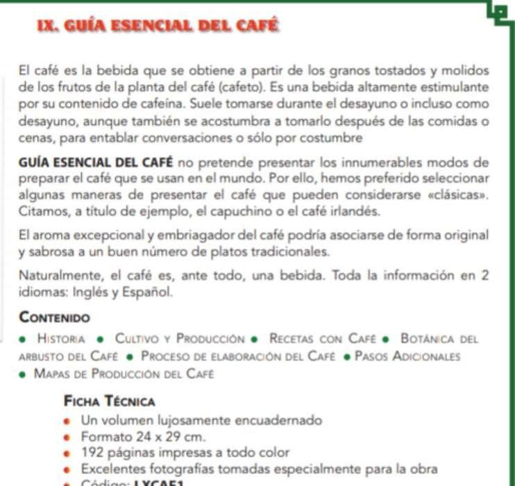 Guia Esencial Del Café