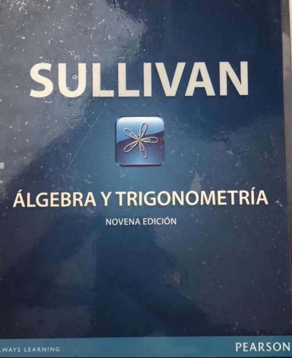 Libro Sullivan <strong>algebra</strong> Y Trigonometria