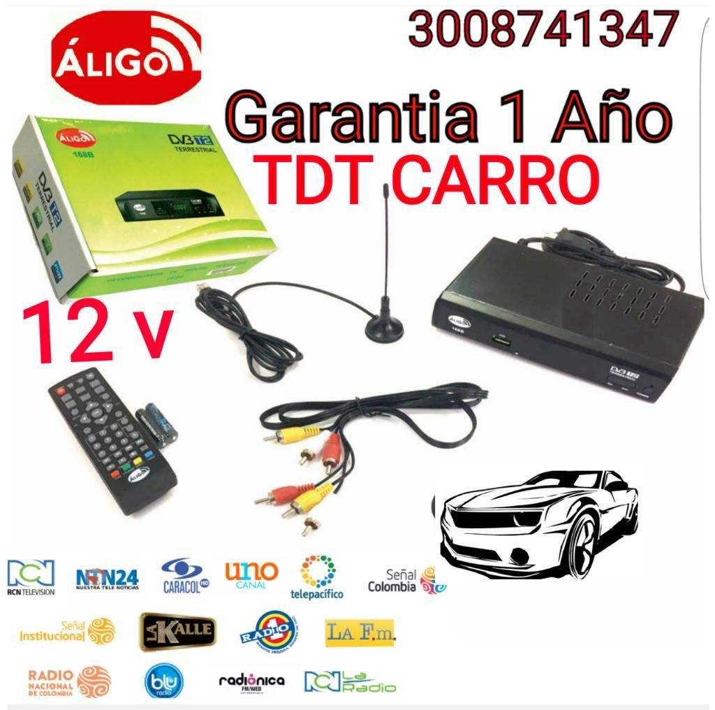 Decodificador Tdt Carro 12v