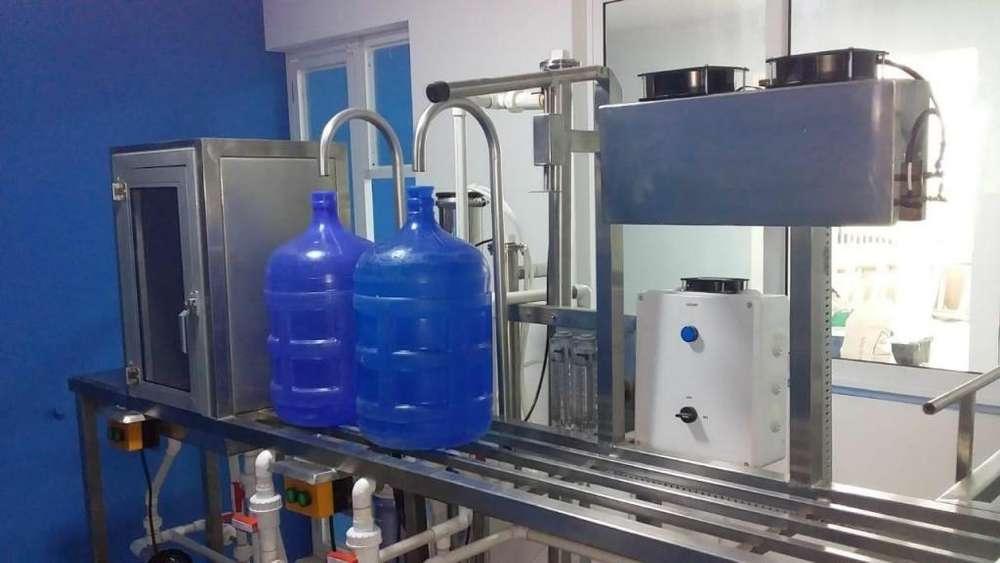 Sistema Purificador Agua 400 Botellones Día