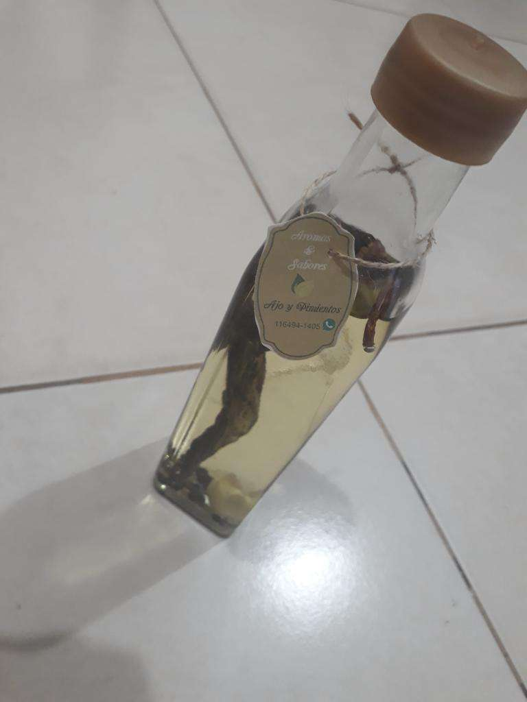 Aceite Saborizado