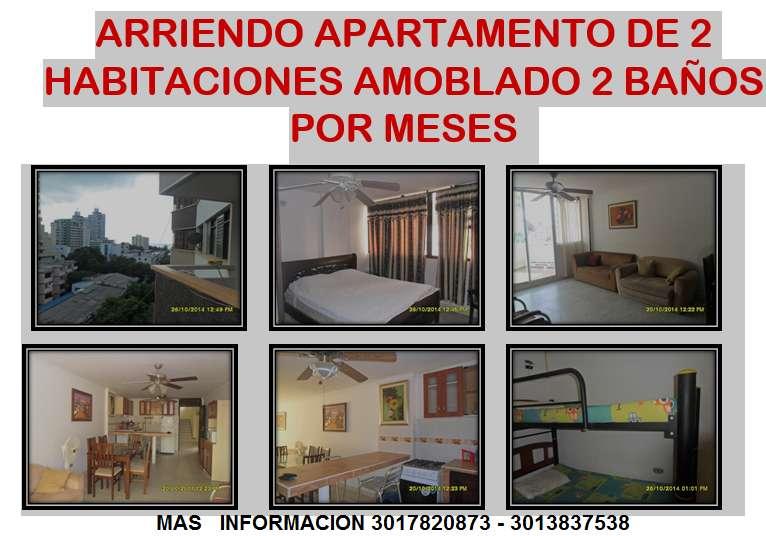 <strong>apartamento</strong> DE 2 HABITACIONES AMOBLADO SECTOR DEL RODADERO