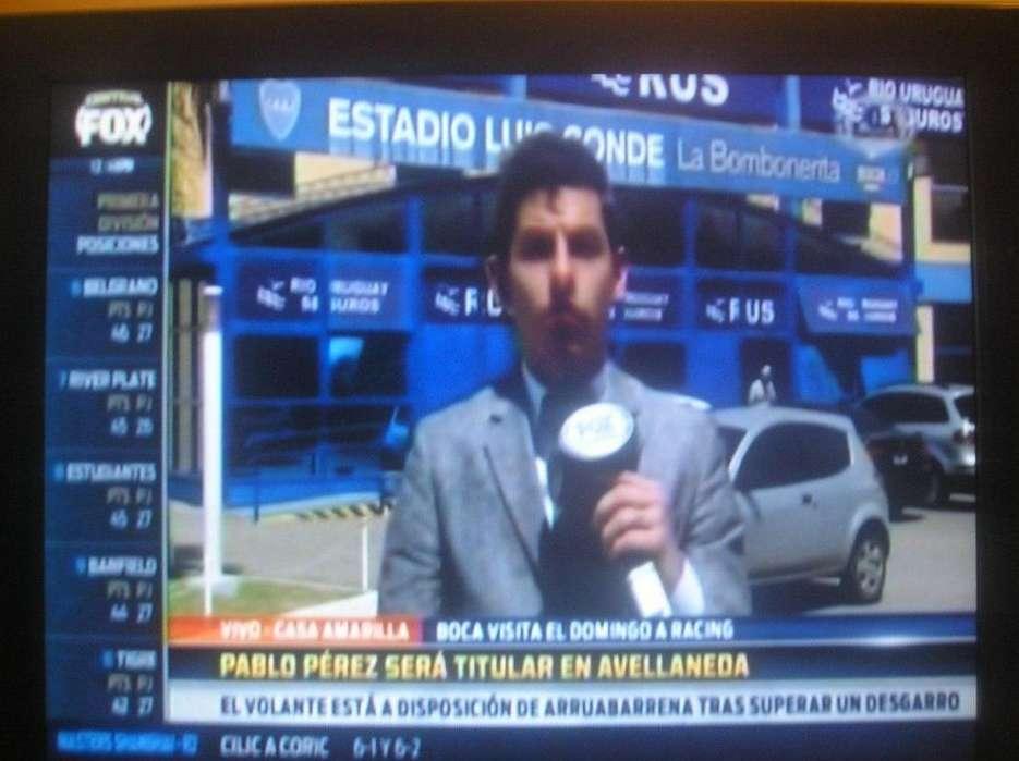 <strong>televisor</strong> Tv 22 Lcd Spika C/ctrl Rem Buena Imagen/funcionami