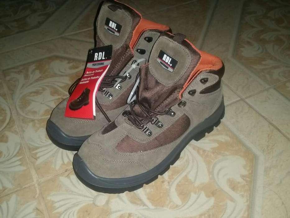 Zapato de Trabajo-punta de Acero (nuevo)