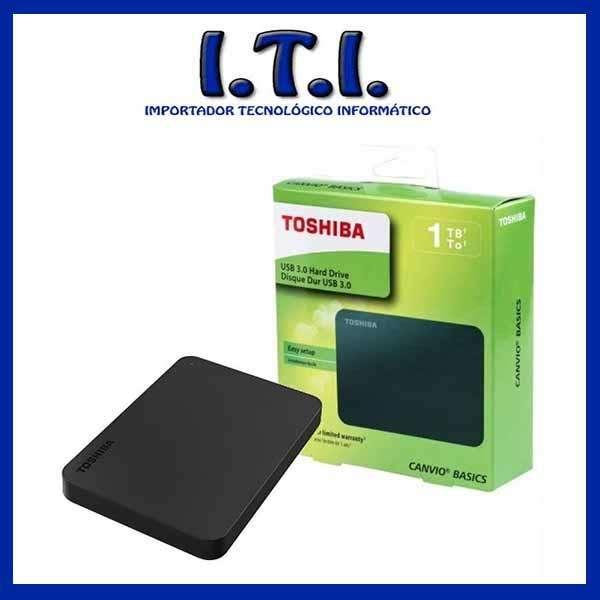 DISCO EXTERNO TOSHIBA 1 TB