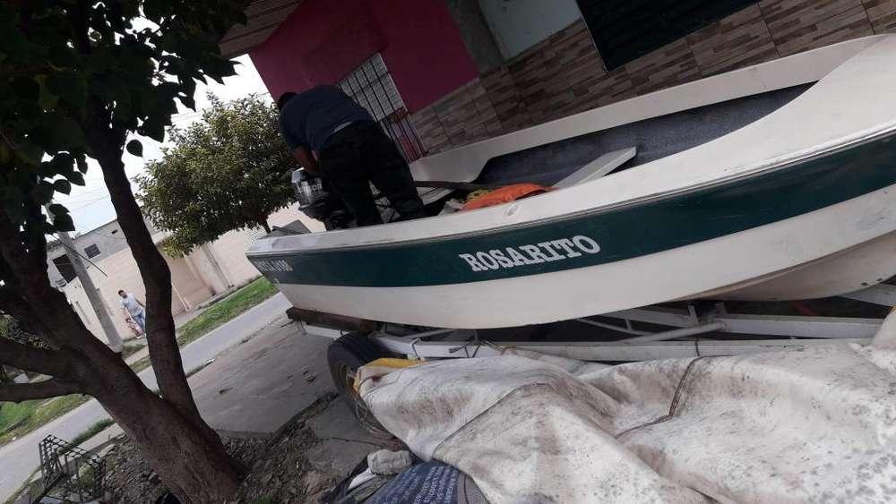 bote pescador 13 motor jhonson 9p