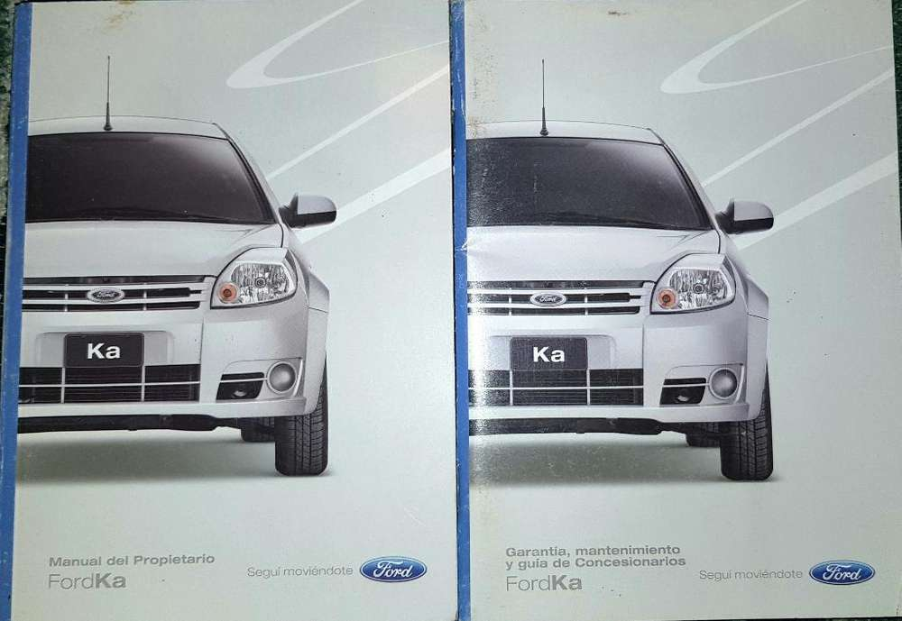 Vendo Manuales de Ford Ka Mod 2011