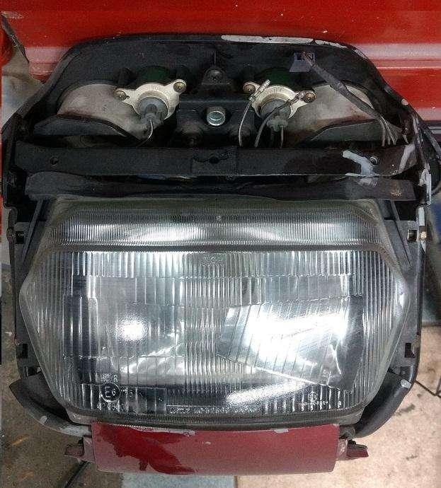 Óptica Suzuki 750F con Tablero y Araña