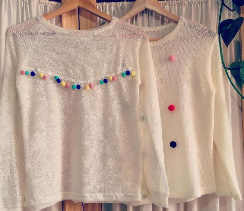 Sweaters Pompones