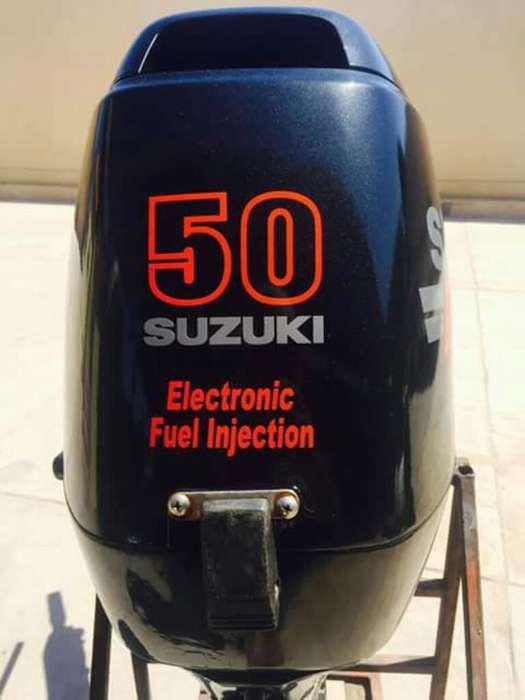 Suzuki50 Motor Inyeccion Fuera Borda CEL 3144178904