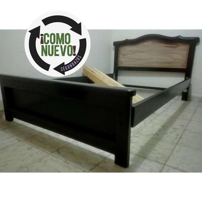 Cama Semi Doble Madera 120cm X 190cm