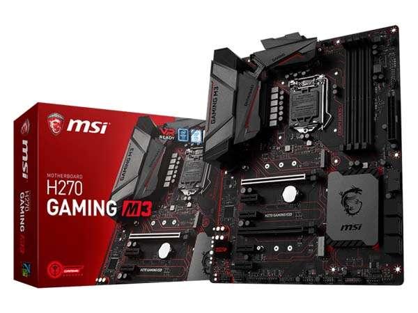 Motherboard Msi 1151 7th Gen H270 Gaming M3