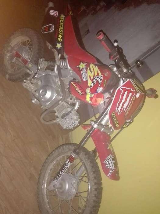 Se Vende Moto Mini Cross - Baja 70 Cc