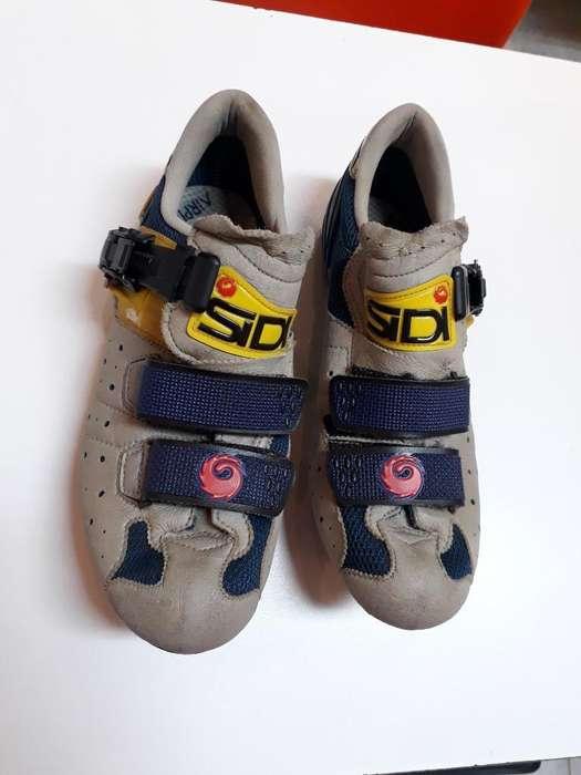 Vendo Zapatillas Sidi de Ruta con Calas