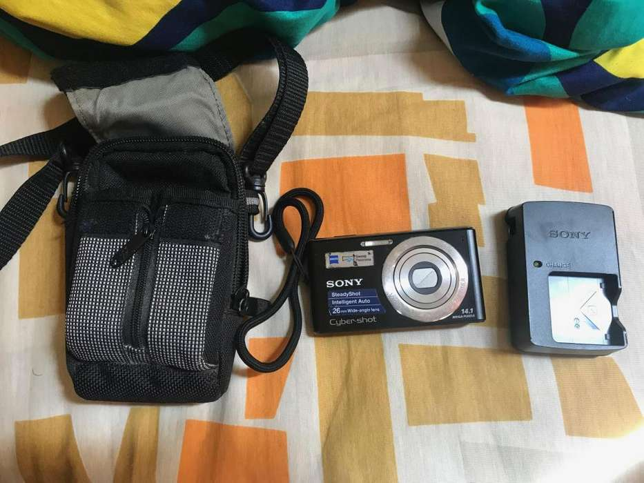 Sony Cyber Shot Dsc-W530 Camara Digital Batería y Cargador Cambios