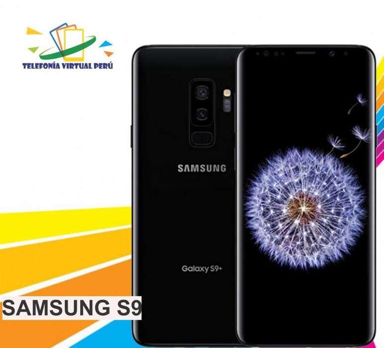 7307434842a SAMSUNG S9 64GB SOMOS TELEFONIA VIRTUAL PERU