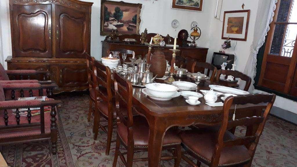 Comedor Provenzal en Roble Eslavonia - Rosario