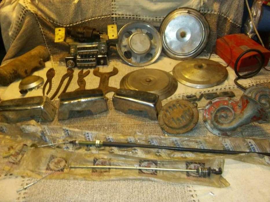 lote de repuestos de autos antiguos .3cv..citroen 2cv ami 8 .ect