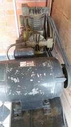 Compresora de Aire 2hp Monofasico