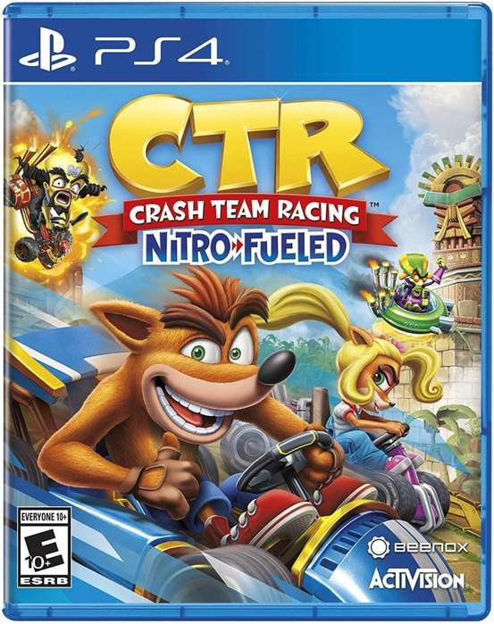 CRASH TEAM RACING NITRO FUELED PS4 NUEVO SELLADO ORIGINAL TIENDA GAMERS _