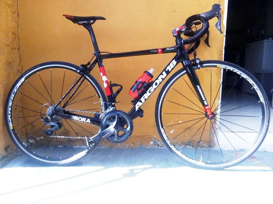 bicicleta en carbono ARGON 18 Gallium pro