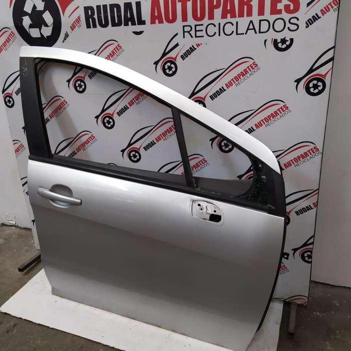 Puerta Delantera Derecha Peugeot 308 8550 Oblea:02597189