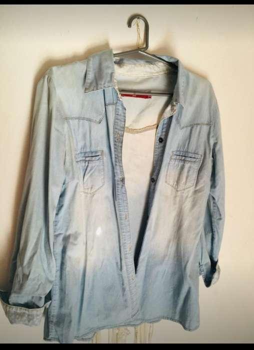 Camisa Jean Af Jeans