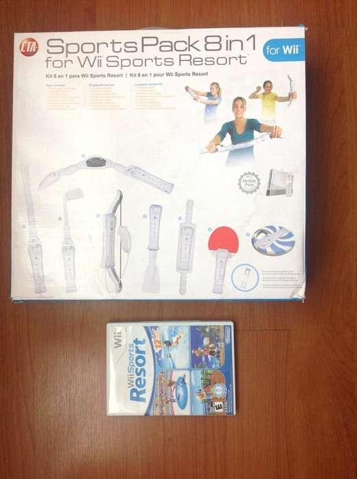 Wii Sports Resort Y Su Pack 8 en 1