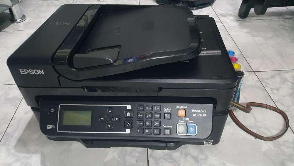 Impresora Multifuncional Epson Wf 2630