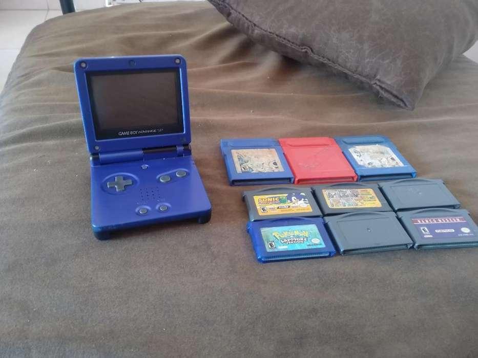 Gameboy Advance Sp con Todo