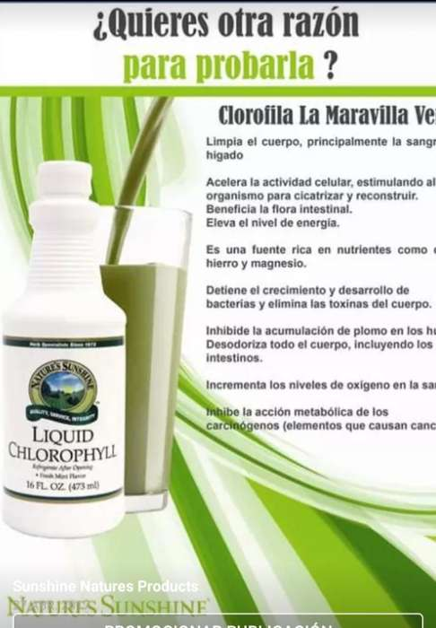 Vendo Productos 100 Naturales