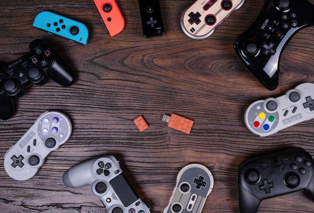 8bitdo adaptador para controles en Nintendo Switch y PC ultima version