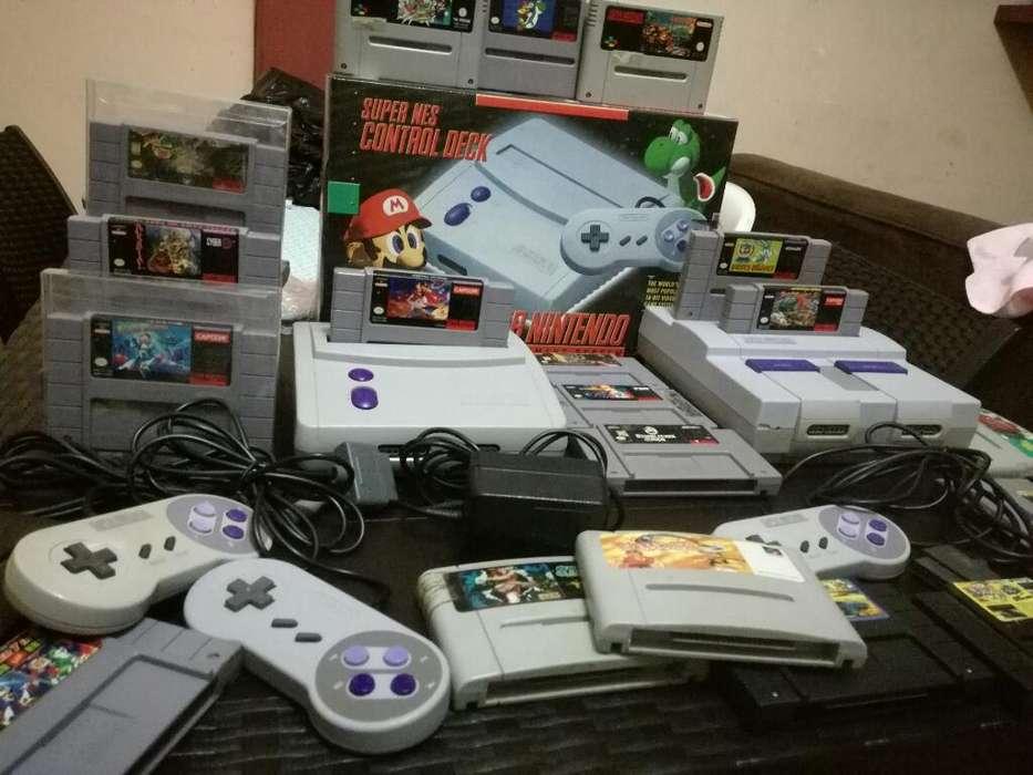 Snes Super Nintendo Games Cartuchos Vip